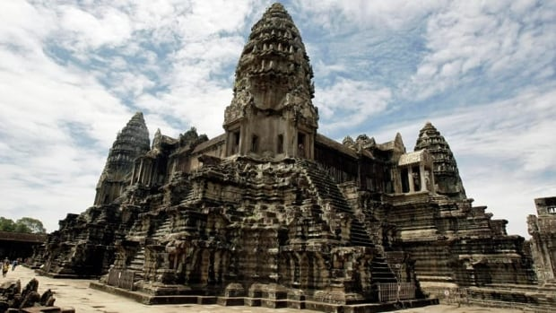 The Angkor temple complex, Cambodia's top tourist destination and one of Asia's most famous landmarks, was constructed in the 12th century during the mighty Khmer empire. Lasers have revealed that the temple was once part of a city much larger and more densely populated than archeologists had imagined.