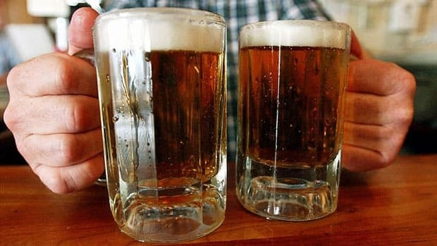 Binge drinking is classified as five or more drinks on a single occasion