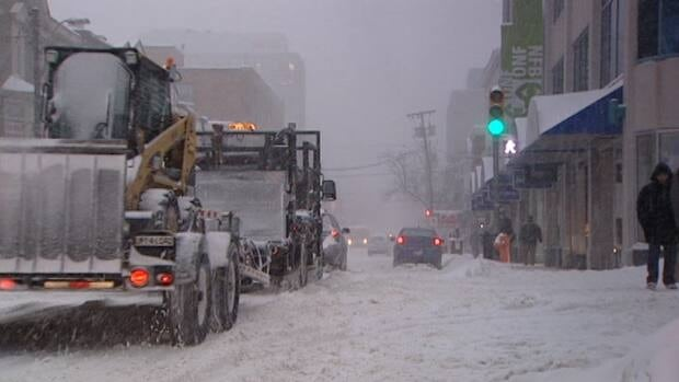 The overnight parking ban comes into effect on Dec. 15.
