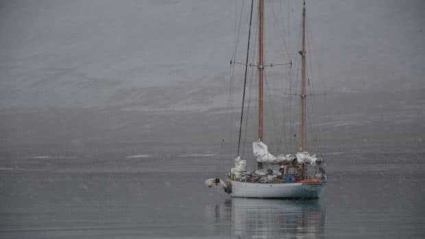 Three sailors attempting an unusual route through the Northwest Passage are reaching a critical stage. (photos courtesy belzebub2.com)