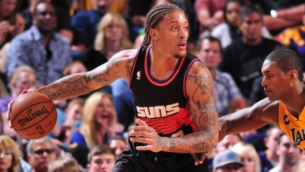 Michael Beasley averaged career lows of 10.1 points and 3.8 rebounds last season with Phoenix.