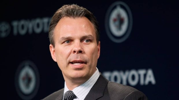 Winnpeg Jets general manager Kevin Cheveldayoff and the team made no trades on deadline day.