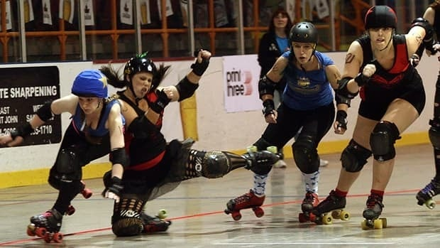Roller derby is a full contact sport.