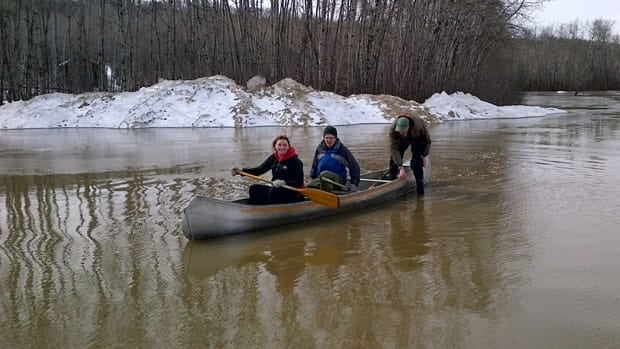 Parking lots and the recreation area of the Shekinah Retreat Centre are only accessible by canoe.