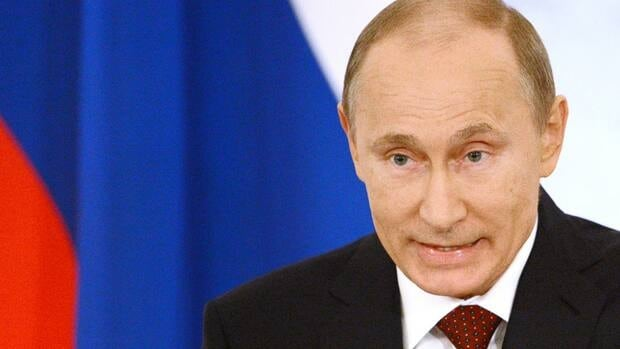 Russian President Vladimir Putin delivers the country's strategic priorities at an annual state of the nation address at the Kremlin in Moscow.