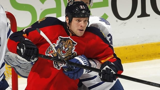 Florida's Krys Barch, seen in a Dec. 27 game, practised Monday with the Panthers but did not speak to reporters.