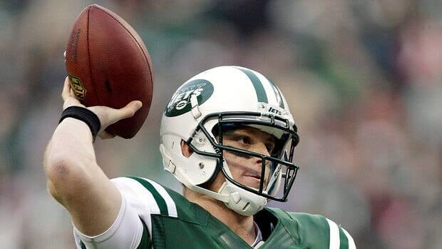 Greg McElroy, shown here, helped lead the Jets to a 7-6 win over Arizona on Dec. 2 when coach Rex Ryan pulled Mark Sanchez from that game late in the third quarter.