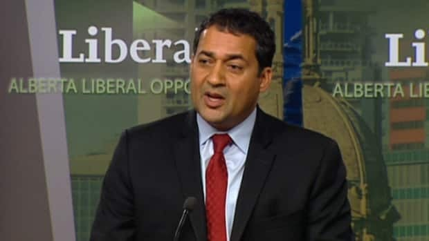 Alberta Liberal Leader Raj Sherman is asking the province's ethics commissioner to review political donations made to Redford's Conservatives by a coalition of construction companies.