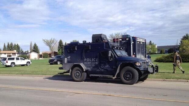 RCMP, including Calgary's Emergency Response Team, were on scene at an armed standoff in Red Deer. The standoff has since ended.