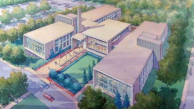 This artist rendering shows the new Education Centre at 50 Millwood Pl.