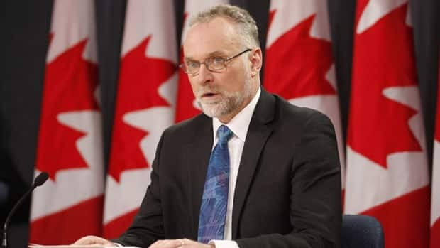 Auditor General Michael Ferguson held a news conference shortly after tabling his spring report on Tuesday.