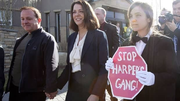 Brigette DePape lost her job as a Senate page after disrupting a speech from the throne to protest against Prime Minister Stephen Harper.
