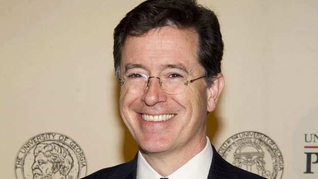 Stephen Colbert, shown here at the 71st Annual Peabody Awards in New York last year, devoted most of his satirical news show The Colbert Report to coverage of Pope Benedict's surprise resignation on Monday.