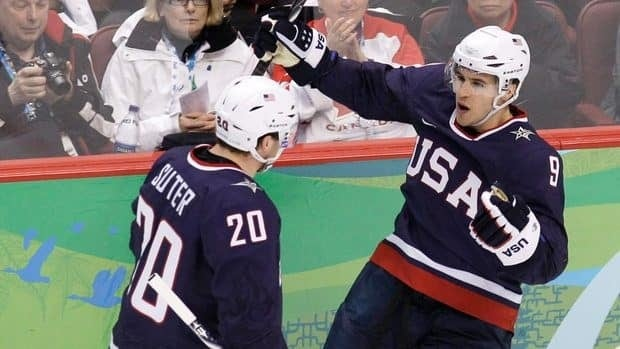 Zach Parise, right, and Ryan Suter played for the 2010 U.S. Olympic squad in Vancouver.