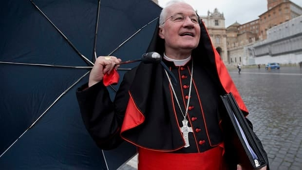 Cardinal Marc Ouellet at the Vatican