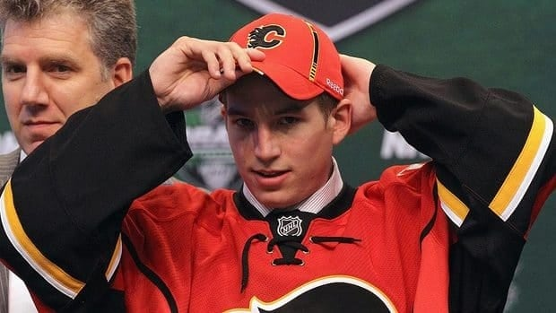 The Flames drafted Sven Baertschi 13th overall a year ago and watched him score three goals in five games when he was summoned on an emergency-recall basis in mid-March.