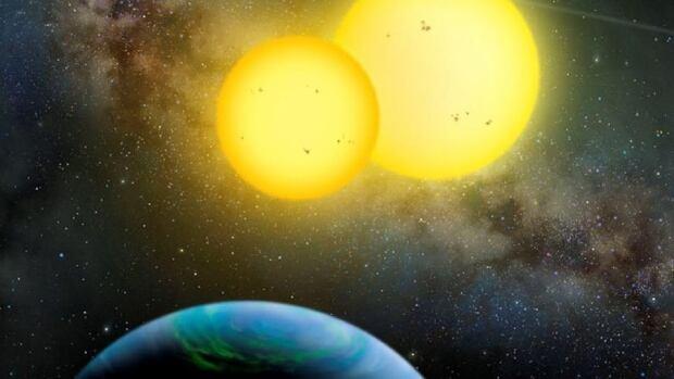 Binary stars planet