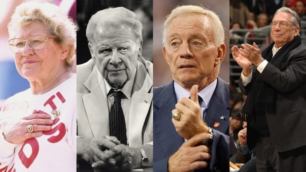 Marge Schott, Harold Ballard, Jerry Jones and Donald Sterling are some of the least lovable owners in professional sports.