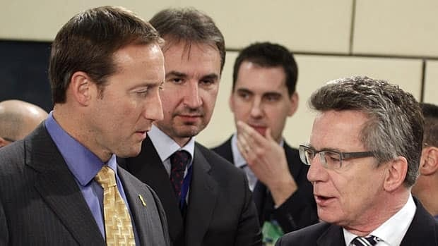 Defence Minister Peter MacKay and his German counterpart, Thomas de Maiziere, met recently at a NATO meeting in early February in Brussels and on Tuesday, they made an announcement in Ottawa about a new Canadian Forces base in Germany.