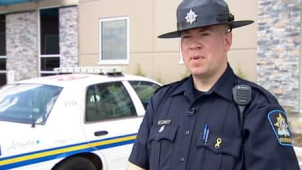 Airdrie Sheriff Jason Graw comments on a teen driver pulled over Monday morning for speeding.
