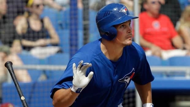 Outfielder Travis Snider will start the 2012 season in Las Vegas, playing with the Toronto Blue Jays Triple-A affiliate
