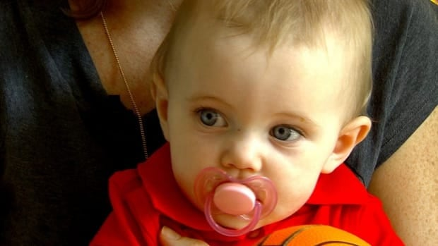 Nine-month-old Kaitlyn Pogson suffers from Dravet syndrome, a rare form of epilepsy that could mean she will never speak or walk.