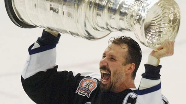Dave Andreychuk's name is being batted around as a possibility for the Hockey Hall of Fame on Tuesday.