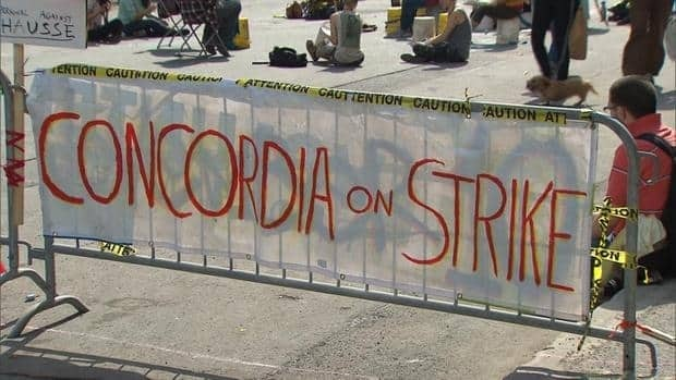 About 12,000 students at Concordia University went on strike earlier this year. Student organizations are currently voting to determine whether or not this strike will continue.