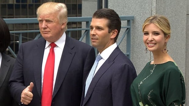 Donald Trump was in Vancouver in June of 2013 to announce construction of the 63-tower downtown Trump Tower where the construction crew's party happened.