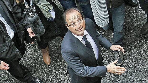 After a long career in the Socialist party backrooms, things are looking up for Francois Hollande, who is to become the next president of France.