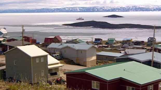 The Canadian Coast Guard icebreaker Henry Larsen arrived in the inner part of Frobisher Bay late Wednesday morning to make way for two vessels — a tanker and a cargo ship.
