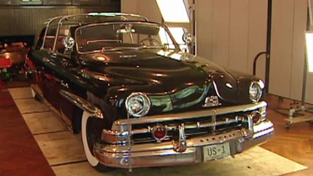 The Queen rode in this 1950 Lincoln Cosmopolitan three times during trips to North America.