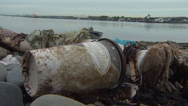 Since 1991 volunteers have collected 11,000 bags of garbage and recyclables from McNabs Island.