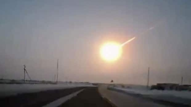 The meteor that streaked through the sky and exploded Friday over Russia's Ural Mountains created a fireball and intense flash of light, which momentarily was brighter than the sun.