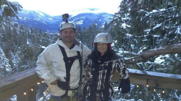 Matt Lorraway, 31, was visiting Whistler with his 23-year-old girlfriend Rebecca Ware from February 3 to 17.