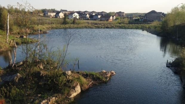 Frobisher Creek may be one source of pollution as it winds through industrial areas and subdivisions before flowing into Ramsey Lake.