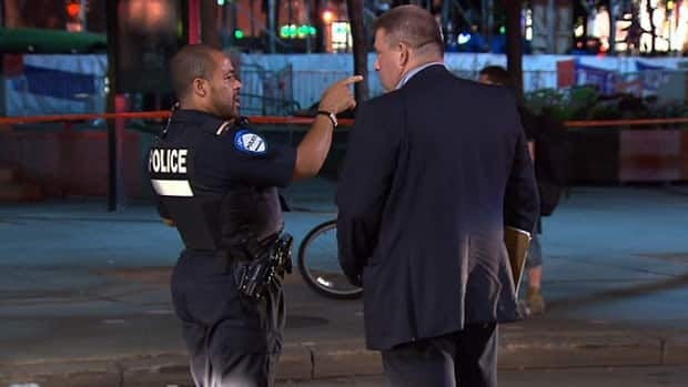 Montreal police say the two injured men are not cooperating with investigation.