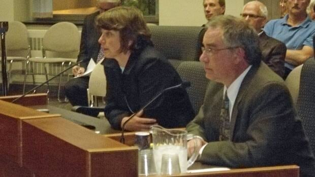 RegenMed representatives Judy Sander and Yves Fricot appealed to Thunder Bay council Monday night to ask for more money for the fledgling biotechnology firm.