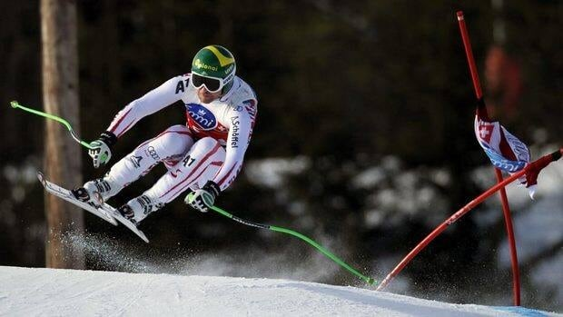 Austria's Klaus Kroell won Saturday's downhill in Kvitfjell, Norway, to overtake the lead in the standings from Swiss veteran Didier Cuche, who finished 10th.