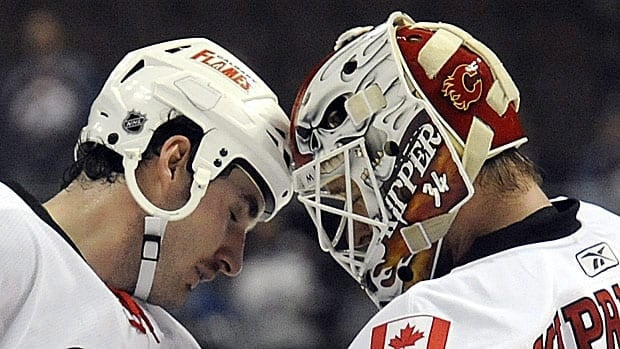 A Conservative MP is denying the import tax will remain on hockey helmets, directly contradicting Department of Finance officials over a tariff that's expected to increase on the protective gear in 2015.