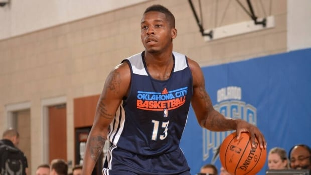 Dwight Buycks during the 2013 Southwest Airlines Orlando Pro Summer League on July 10, 2013 at Amway Center in Orlando, Florida.