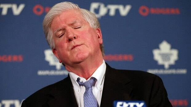Former Toronto Maple Leafs general manager Brian Burke was fired Jan. 9, after four years with the club.