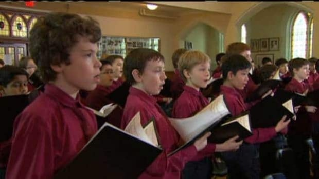 St. Michael's Choir performs in Toronto in December 2012. The choir has an audience April 10 with the new pope.
