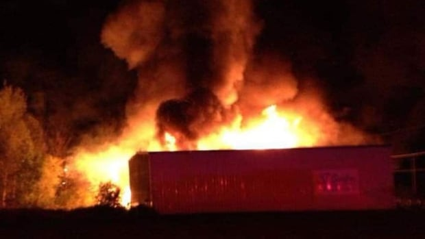 RCMP said they got a call about the fire around 4:30 a.m.