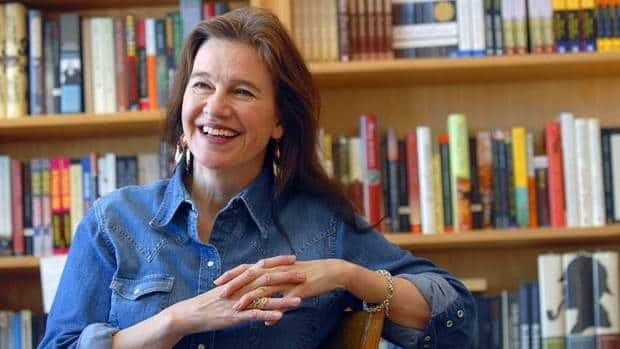 Author Louise Erdrich, seen at her store BirchBark Books in Minneapolis, is one of the 2012 winners of the U.S. National Book Awards.