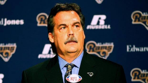New head coach Jeff Fisher of the St. Louis Rams addresses the media during a press conference at the Russell Training Center on January 17, 2012 in Earth City, Missouri.