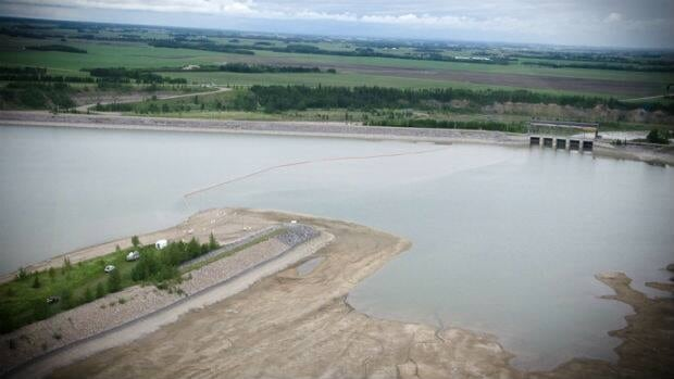 The Alberta government says environmental monitoring results indicate Gleniffer Lake is within human health and environmental standards and once again safe to use.