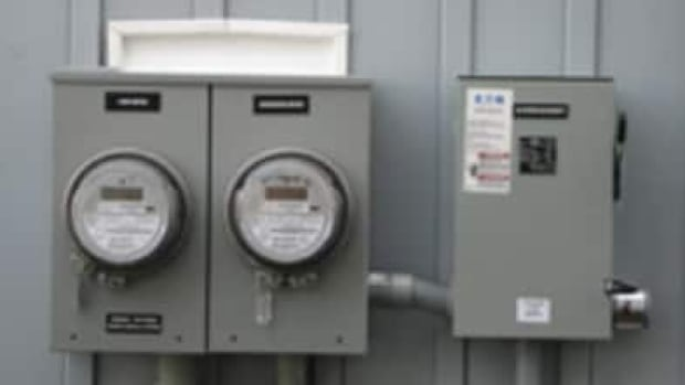 Smart meters enable two-way communication between the meter and the central system. Pictured is a dual hydro metre.
