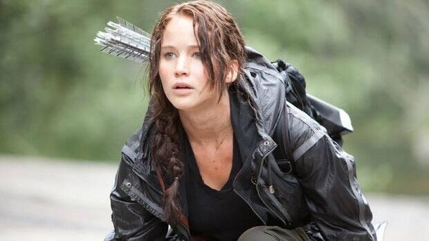 Jennifer Lawrence, no relation to director Francis Lawrence, stars as heroine Katniss in The Hunger Games film series.