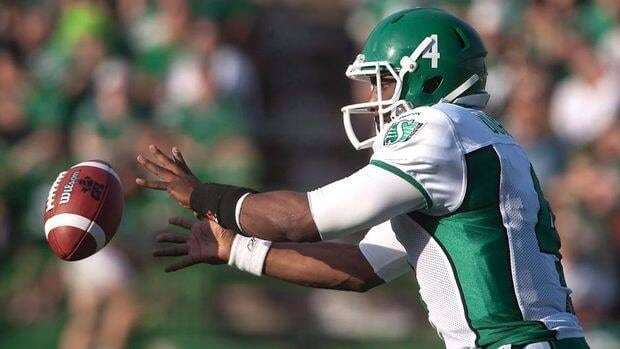 Saskatchewan quarterback Darian Durant, seen in the last exhibition game, looks to bounce back along with many of his returning teammates.